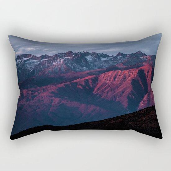 Red mountain 4 Rectangular Pillow