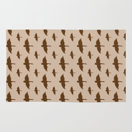 Duck Goose Pattern Rug