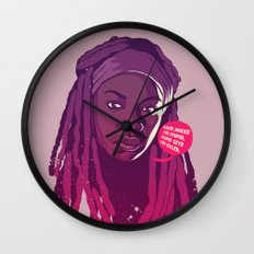 THE WALKING DEAD - Michonne Wall Clock