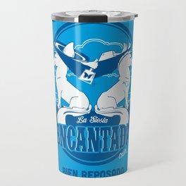 La Siesta Encantada, Bien Reposado • The Best Tequila TShirt! Travel Mug