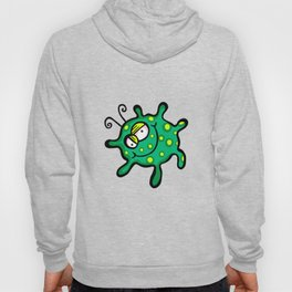 Happy Green Spotty Germ Hoody