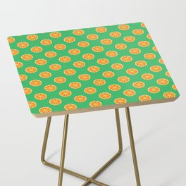 Cool Oranges by Silvana Arias Side Table