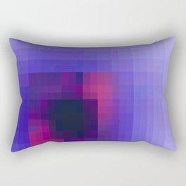 Geometric Sunset Rectangular Pillow