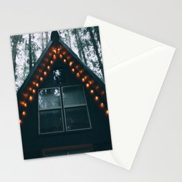 Cabin #woods Stationery Cards