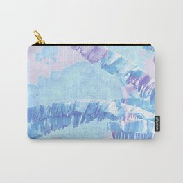 Banana Jungle - Blue & Pink Carry-All Pouch