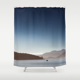San Juan Islands Shower Curtain