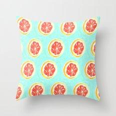 Grapefruit II Throw Pillow