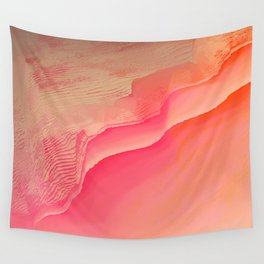 Pink Navel Wall Tapestry