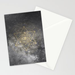 cosmic consciousness Stationery Cards