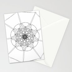 love mandala number 1 Stationery Cards