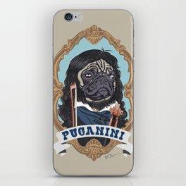 Puganini iPhone Skin