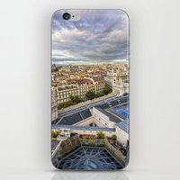 madrid iPhone & iPod Skins featuring Madrid by Solar Designs