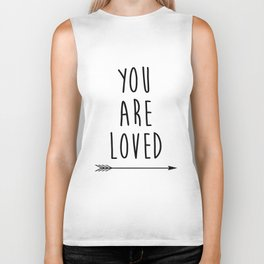 You Are Loved Printable Art, Nursery Art, Black and White Art, Arrow Art, You are So Loved Word Art, Biker Tank