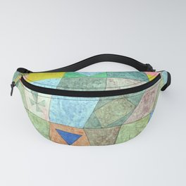 Paul Klee Friendly Game Fanny Pack