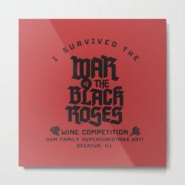 War of the Black Roses Metal Print