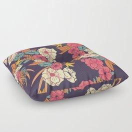 Jungle Pattern 006 Floor Pillow