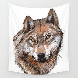 loup y es tu? Wall Tapestry