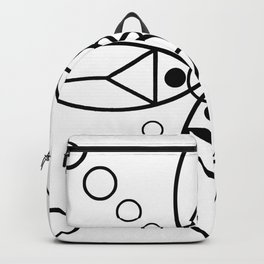 Ancient Religious Symbols Backpack
