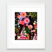 carousel Framed Art Prints featuring carousel by Danse de Lune