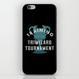 Training: Triwizard  Cup iPhone Skin