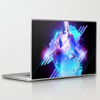 christ Laptop & iPad Skins featuring Cosmic Christ by Matt Bryson