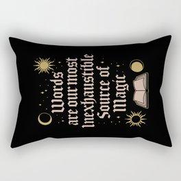 Source of Magic Rectangular Pillow