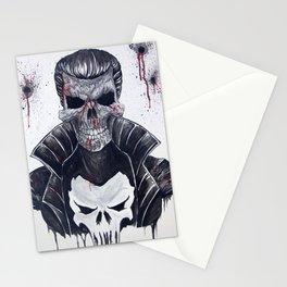 Punisher Skull Stationery Cards