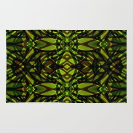 Fractal Art Stained Glass G313 Rug