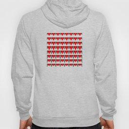 embers geometric pattern Hoody