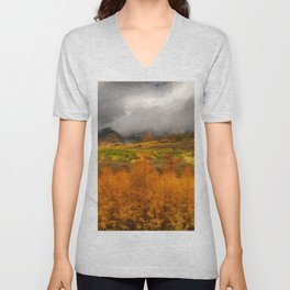 Colorado Fall Colors Unisex V-Neck