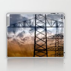 Transmission tower Laptop & iPad Skin