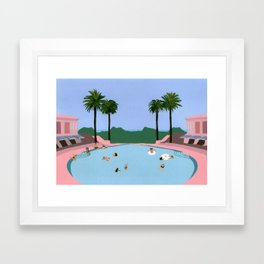 Welcome to Miami Framed Art Print