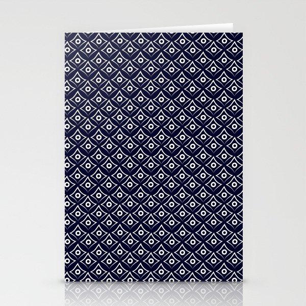 Blue Fish Eye Stationery Cards