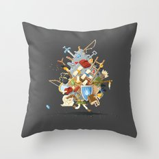 It's Dangerous to go alone, Take This. Throw Pillow