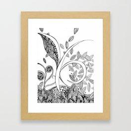 Clivia Flava Framed Art Print