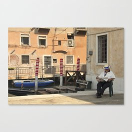 The Waiting Game  Canvas Print