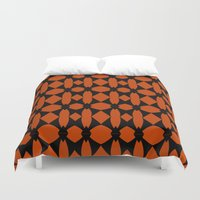 asia Duvet Covers featuring Asia  by Robleedesigns
