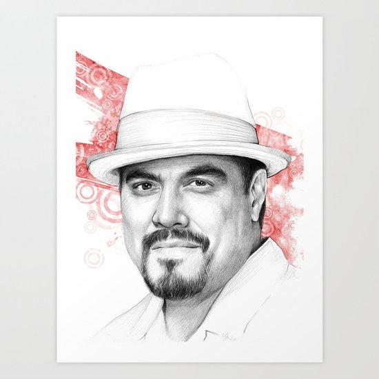 Dexter - Angel Batista Art Print