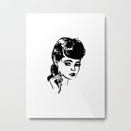 Rachel Metal Print