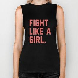 Fight Like a Girl Biker Tank