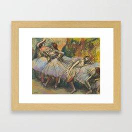 """Edgar Degas """"Dancers"""" Framed Art Print"""