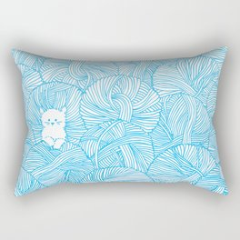 Yarn Ball Pit Rectangular Pillow