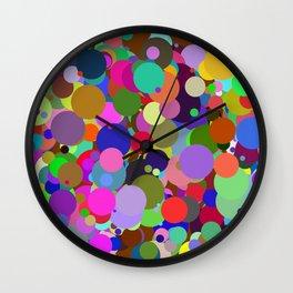 Circles #3 - 03082017 Wall Clock