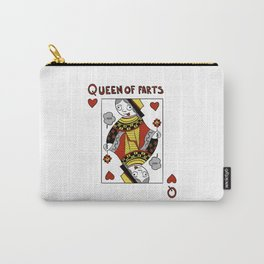 Queen of Farts Carry-All Pouch