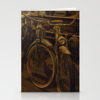 bicycles Stationery Cards featuring Bicycles by Gurevich Fine Art