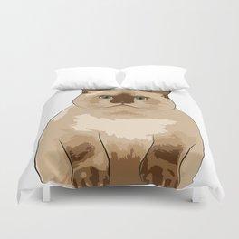 Fluffy CAT Duvet Cover
