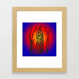 Medicine Woman Sunrise Framed Art Print