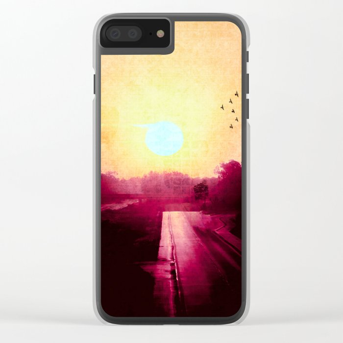 Don't Give Up Clear iPhone Case