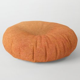 Brown Textured Ombre Abstract Floor Pillow