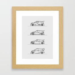 WRC 2017 Framed Art Print